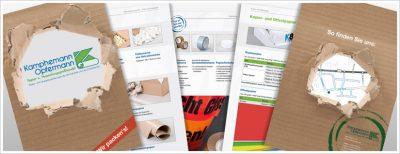 Werbung, Print, Drucksachen